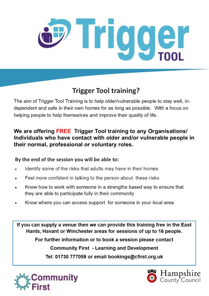 FREE Trigger Tool Training – Community First